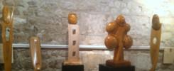 exposition-la bouille-sculptures-Pierrick-gandoflo-sculpteur